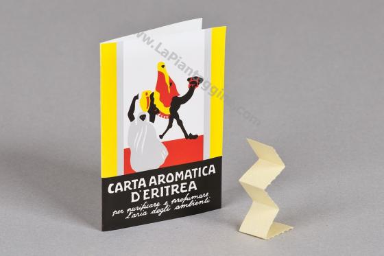 Carta Aromatica d'Eritrea da 24 listelli