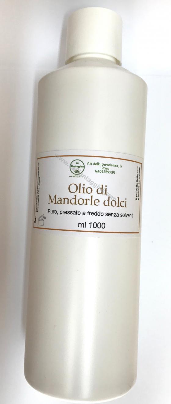 Olio di Mandorle dolci per massaggio 1 litro