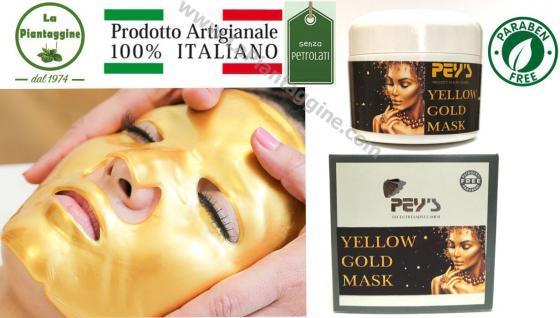 GOLD MASK Maschera d'Oro illuminante,anti age,rivitalizzante e contro le occhiaie