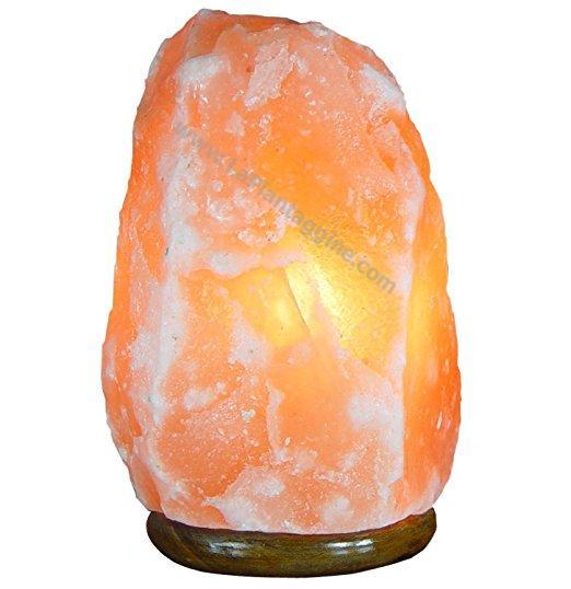 Lampade di sale rosa dell'Himalaya - Lampada di sale rosa dell'Himalaya kg 9-12 lampade