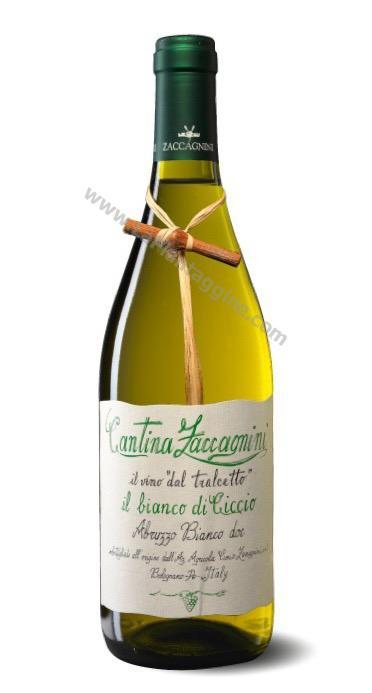 Vini Spumanti e Amari - IL BIANCO DI CICCIO Abruzzo Bianco DOC Vino ZACCAGNINI
