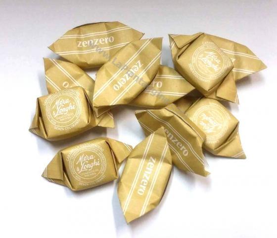Caramelle e liquirizie - Caramelle allo Zenzero 100g