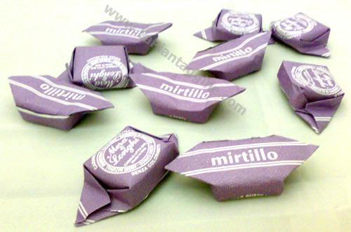 Caramelle e liquirizie - Caramelle al Mirtillo 100g
