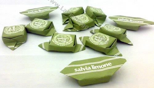 Caramelle e liquirizie - Caramelle alla Salvia e Limone 100g
