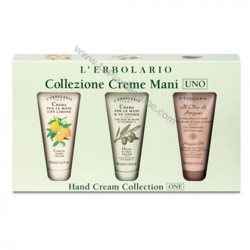 Creme mani - Collezione Crema Mani Oliva,Argan,Limone L Erbolario