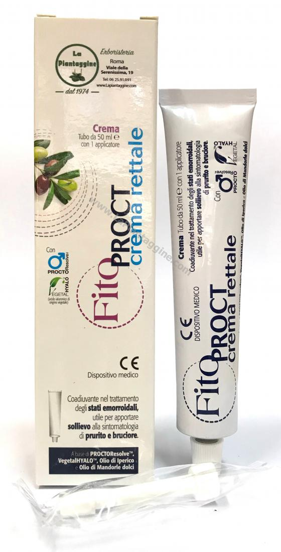 FitoPROCT Crema Rettale Emorroidi 50ml con applicatore