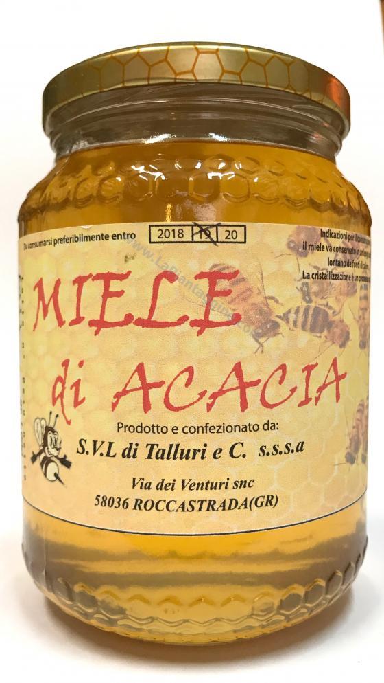 Miele Acacia 1kg 100% Italiano dalla maremma toscana