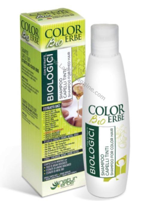 Shampoo per Capelli Tinti Bio Natur Erbe