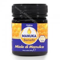 Difese immunitarie Miele di MANUKA 550+ MGO tested 250g  benefit