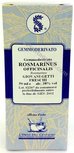 Macerati di erbe e piante - M.G. Rosmarinus officinalis