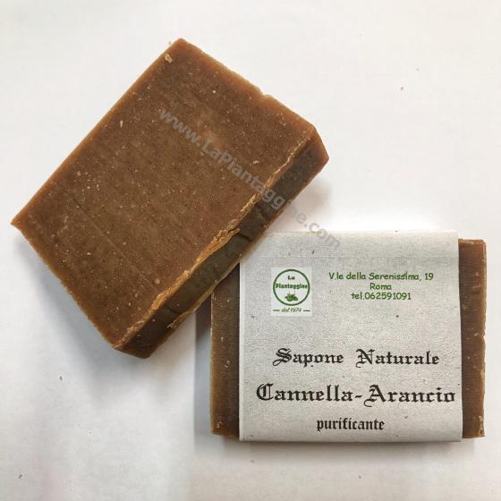 Saponi Sapone Artigianale Cannella e Arancio Purificante