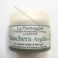 Prodotti a base di Aloe Maschera Viso Argilla e Aloe