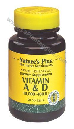 Vitamina A - Vitamina A&D Olio di Fegato di pesce