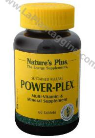 Multivitaminici e Multiminerali - Power-Plex 90 tav