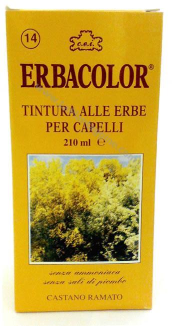 Tinture per capelli - Tintura per capelli Erbacolor
