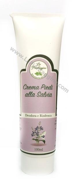 Piedi - Crema Piedi alla Salvia Deodora,rinfresca, previene la macerazione da sudore.