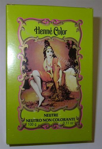 Hennè - Hennè Neutro non colorante henne