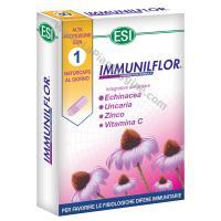 Difese immunitarie IMMUNILflor Capsule Echinacea,uncaria,zinco,vitamina c,probiotici ESI