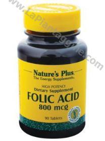 Integratori alimentari - Acido folico mcg 800